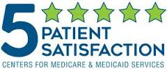 Childress Regional Medical Center received 5 Star Patient Satisfaction from Centers for Medicare and Medicaid Services